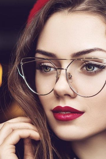 trends in women's glasses