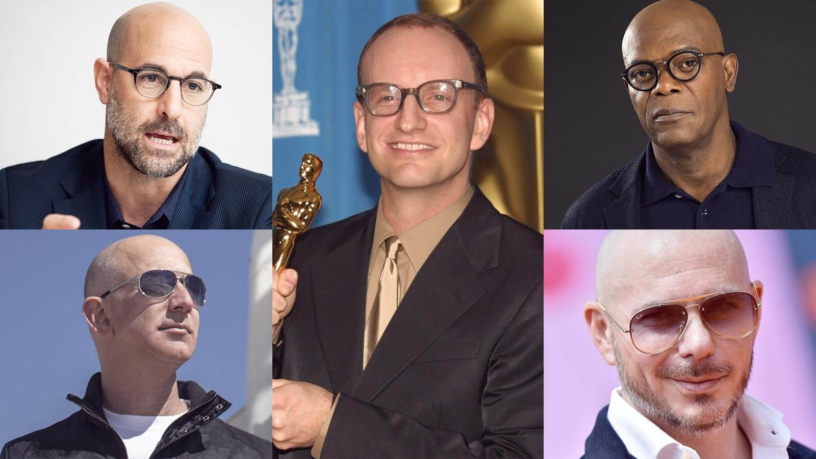 How to Style Your Shaved Head With Glasses?